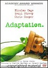 DVD Cover of Adaptation