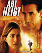 DVD Cover of Art Heist
