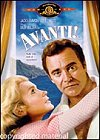 DVD Cover of Avanti