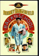 DVD Cover of Back to School