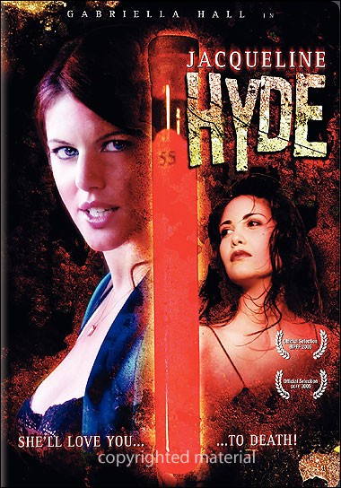 DVD Cover of Jacqueline Hyde