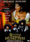 DVD Cover of Revenge of the Musketeers