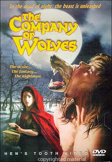 DVD Cover of The Company of Wolves