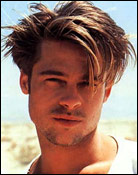 Headshot of Brad Pitt