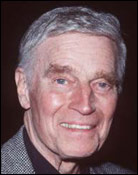 Headshot of Charlton Heston