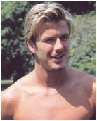 Headshot of David Beckham