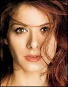 Headshot of Debra Messing