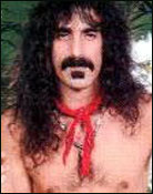 Headshot of Frank Zappa