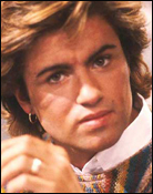 Headshot of George Michael