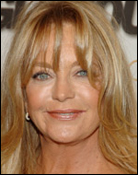 Headshot of Goldie Hawn