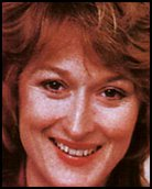 Headshot of Merril Streep