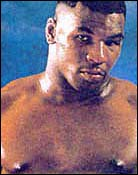 Headshot of Mike Tyson