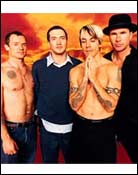 Headshot of Red Hot Chili Peppers