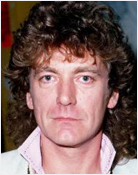 Headshot of Robert Plant